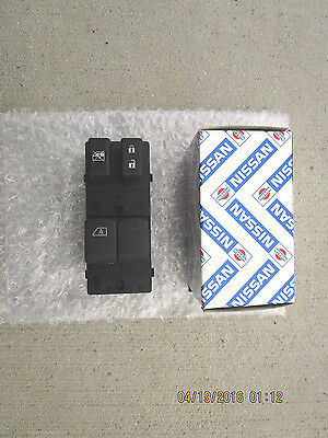 08-1 NISSAN ALTIMA SE SR 2D COUPE DRIVER SIDE MASTER POWER WINDOW SWITCH OEM NEW