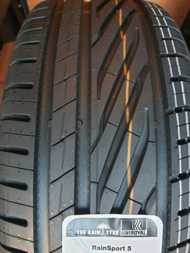 2X NUOVA AUTO PNEUMATICI UNIROYAL RAINSPORT 5 245//40 ZR18 XL 97Y Premium 245 40 18 buona condizione