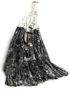 Anhaenger-Kyanit-mit-Bergkristall-60-20mm-Silberplattiert