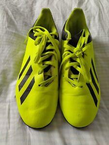 Adidas-Tf-Junior-Enfants-Astro-Chaussures-De-Football-Baskets-Football-Chaussures-Jaune-X-18-4