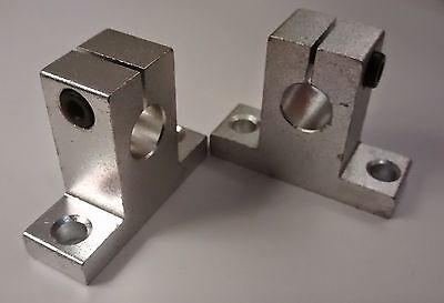 SK10 Bracket - 10mm Linear Rail, Shaft, Rod Support - CNC & 3D Printer - SH10A