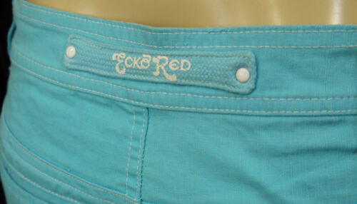 NEW WOMEN AUTHENTIC ECKO RED BLUE CAPRIS