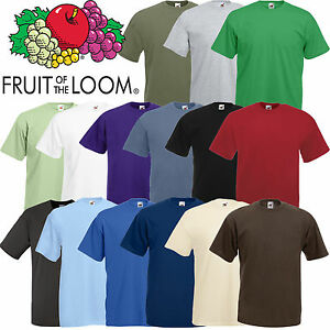 FRUIT-OF-THE-LOOM-STYLE-BLANK-T-SHIRT-quality-branded-mens-clothing
