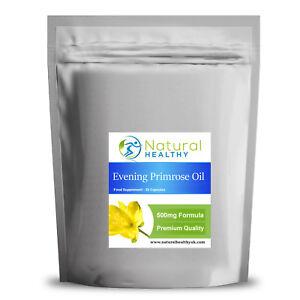 60 Olio di Enotera 500 MG-acidi grassi essenziali, & Menopausa Premestruale