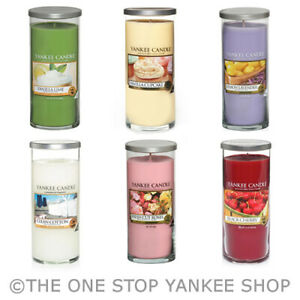 SAVE-20-Yankee-Candle-Large-Pillar-Decor-Scented-Candle-Variety