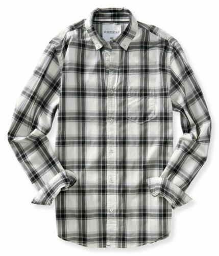 jeu 3XL! L S XL Aeropostale Homme à Manches Longues Bouton Down Chemises XS 2XL M