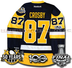 Image is loading SIDNEY-CROSBY-PITTSBURGH-PENGUINS-2017-STANLEY-CUP-JERSEY- 5556ed4e1be