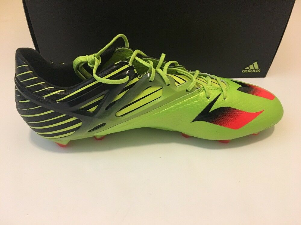 sports shoes 498b7 68a95 ... New Adidas Messi 15.1 FG AG soccer soccer soccer cleats - Semi Solar  Slime Size ...