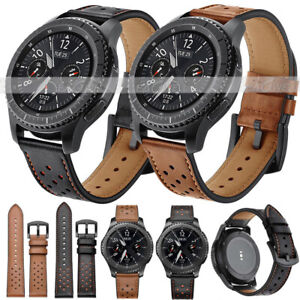 Genuine-Leather-Watch-Band-Strap-Belt-For-Samsung-Galaxy-Watch-42mm-46mm-Gear-S3