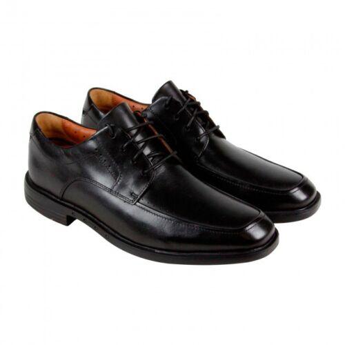 Us10 Vestir Uk9 Cordones Hombre Zapatos Eur44 Clarks De Negro Con Cuero En wcOaczPZ0q