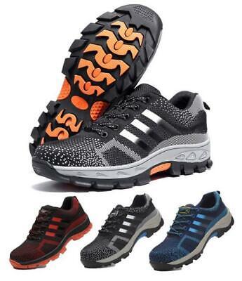 Fiducioso Scarpe Antinfortunistica Uomo S3 Src Scarpe Lavoro Antiscivolo Sneakers Leggere Tecniche Moderne