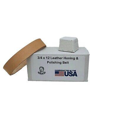 3//4X12 in Leather Honing Belt SUPER STROP Fits Ken Onion Work Sharp WSKTSKO