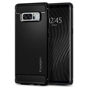 Spigen Galaxy Note 8 Case Rugged Armor Matte Black