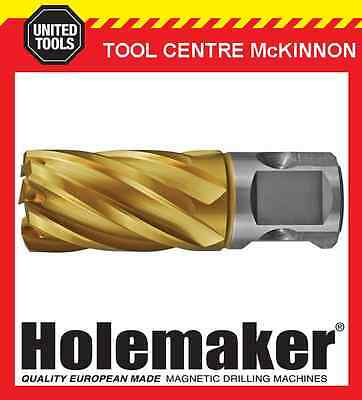 HOLEMAKER 22mm x 25mm UNIVERSAL SHANK GOLD MAG DRILL CUTTER SUIT MOST BRANDS