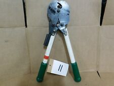 Green Lee Greenlee Electrical Ratchet Cable Cutter 19 18 Shear Cut 774 01878