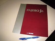 Mitsubishi PAJERO JR. Japanese Brochures 1995/11 H57A 4A31