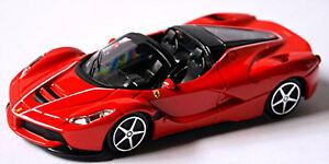 Ferrari Laferrari Aperta 2016 Rot Red 1 43 Bburago Ebay