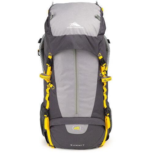 Mercury -Ash -Yellow #58450-4201 New High Sierra Summit 45 Internal Frame Pack