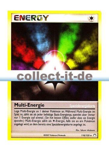 Multi-énergie allemand POKEMON DIAMANT /& Perl-MYSTÉRIEUSE TRÉSORS 118//123