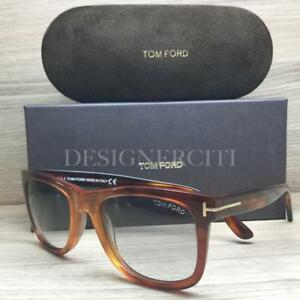 807419d106 Tom Ford Leo TF336 336 Sunglasses Crystal Havana 52B Authentic 52mm ...
