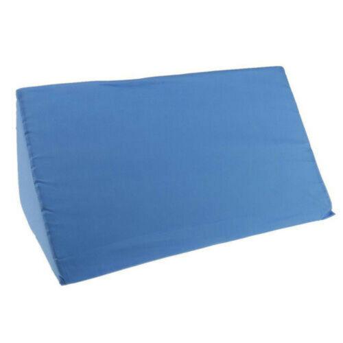 Acid Reflux Foam Pure Bed Wedge Pillow Leg Elevation Back Lumbar Support Cushion