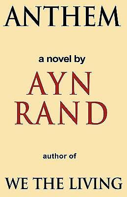 Anthem By Ayn Rand 2009 Trade Paperback For Sale Online Ebay
