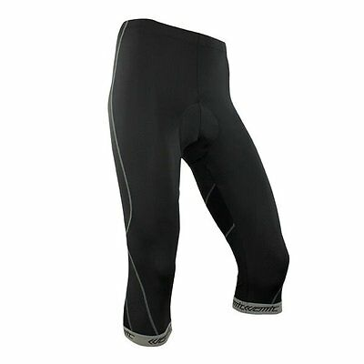 New Unisex Bicycle Cycling 3D Padded Bike Tights 3//4 Pants Size S-XXXL Santic
