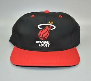 Miami-Heat-NBA-Twins-Enterprise-Vintage-90-039-s-Twill-2-Tone-Snapback-Cap-Hat-NWT