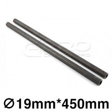 """CGPro 18""""/450mm High Strength Carbon Fibre Rods (Pair) for 19mm Support System"""