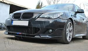 Bmw E60 E61 Front Bumper Splitter Addon Spoiler M Sport M Tech Doesn