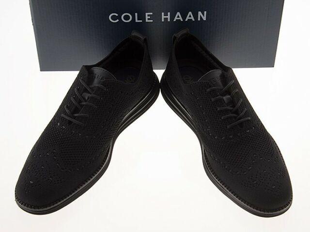 cole haan original grand wingtip black