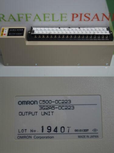 OMRON c500-oc223 3g2a5-oc223