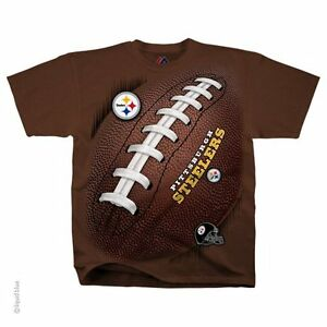 c0b2f0244 PITTSBURGH STEELERS Tie Dye T-Shirt NFL LICENSED APPAREL FOOTBALL ...