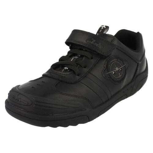 Lite' negro 'wing para escolar Clarks niños Calzado wSfq06