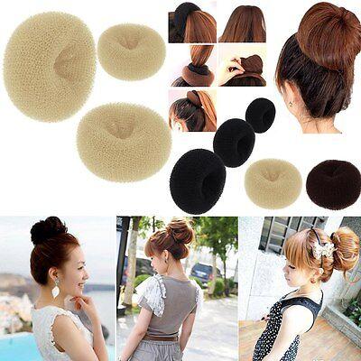 HOT Chignon Bague Donut Shaper cheveux Styler Maker Fille Femmes S M L