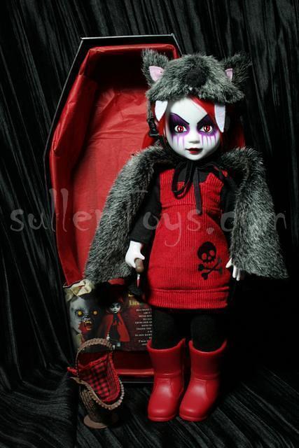 Living Dead Dolls Red Riding Hood Variant Scary Tales Little LDD sullenToys
