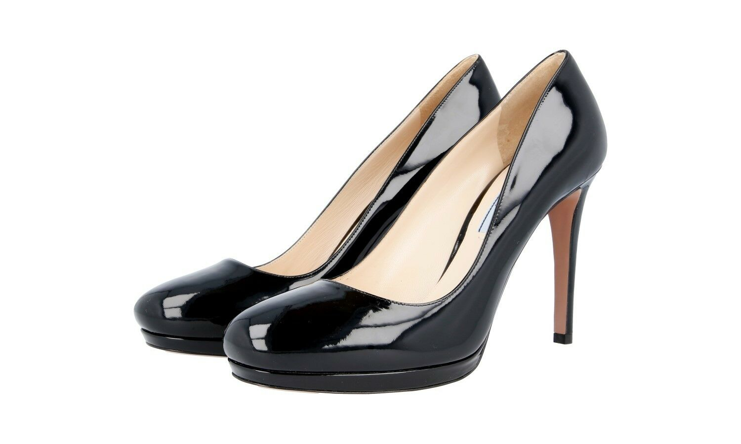 LUXUS KLASSIKER PRADA PUMPS SCHUHE 1IP286 SCHWARZ ABSOLUTER KLASSIKER LUXUS NEU NEW 36,5 37 606f7c