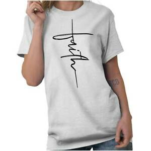 Faith-Christian-Religious-Fashion-God-Gift-T-Shirt-Tee