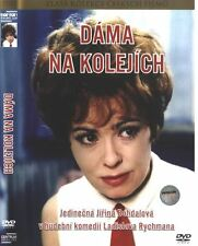 Dama na kolejich (Lady on the Tracks) DVD paper sleeve Czech musical comedy