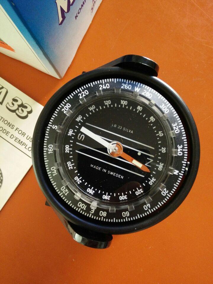 Kompas Silva LB 33. Aldrig været monteret. Som...