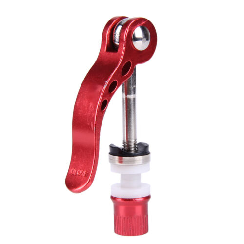 MTB Bike Bicycle Cycling Seat Post Clamp Quick Release QR Style Skewer Bolt