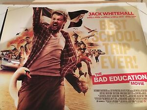 Details about The Bad Education Movie Original Uk Quad Poster