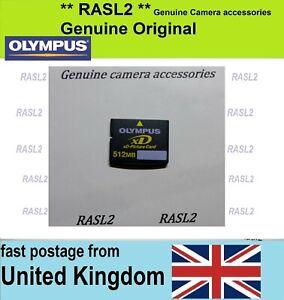 Genuine Original Olympus Xd Picture Card 512 Mb Xd Memory Card Uk Seller Ebay