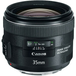 Canon EF 35mm f/2 IS USM Wide-Angle Prime Lens (5178B002)
