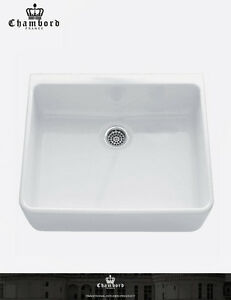 image is loading abey french style chambord clotaire small single bowl - Abey Kitchen Sinks