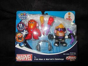 Hasbro Playskool Friends Marvel Iron Man & Hawkeye Mr. Potato Head Characters