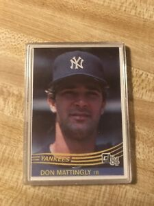 1984-Donruss-248-Don-Mattingly-RC-YANKEES-NM-MT