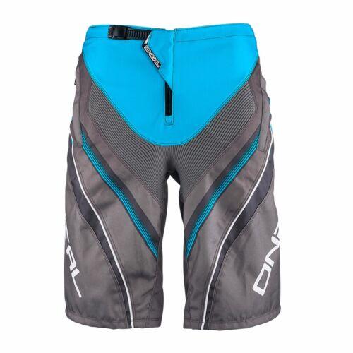 "O/'Neal Element FR MTB Cycling Short Durable Abrasion-proof Blue Grey 32/"""