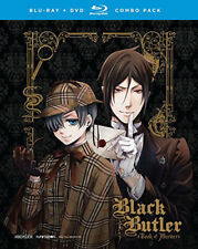 Black Butler Book of Murder DVD Disc Only FUNimation OVA 1 & 2 Complete