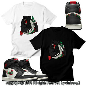 the latest 13f95 762e0 Details about CUSTOM T SHIRT MATCHING STYLE OF Air Jordan 1 High OG A Star  Is Born JD 1-32-1